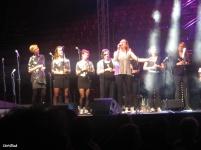 abends gibt's noch ein Konzert für die Festival-Teilnehmer